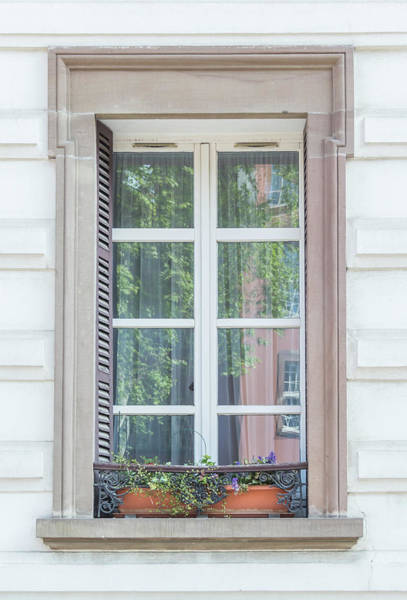 Wall Art - Photograph - Strasbourg Window 03 by Teresa Mucha