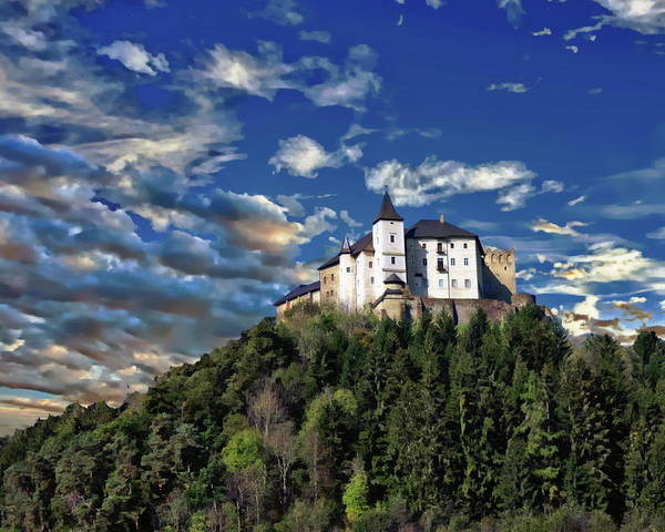 Photograph - Strasburg Castle by Anthony Dezenzio