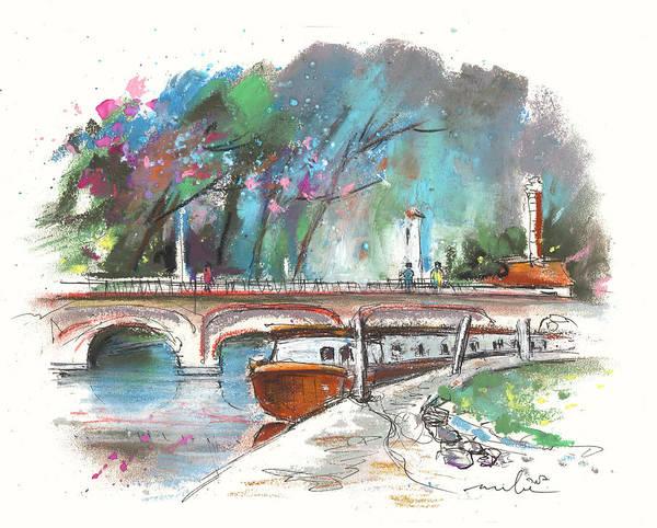Painting - Stratford Upon Avon 01 by Miki De Goodaboom
