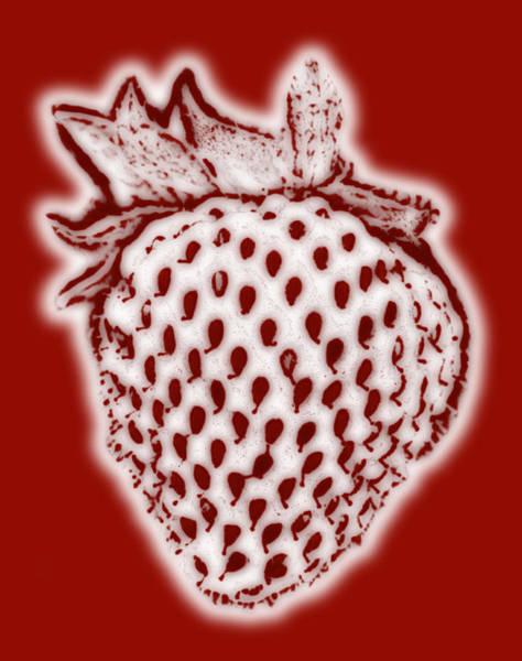 Wall Art - Painting - Strawberry by Frank Tschakert