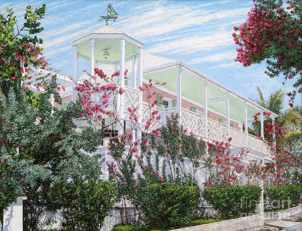 Painting - Strawberry House by Eddie Minnis