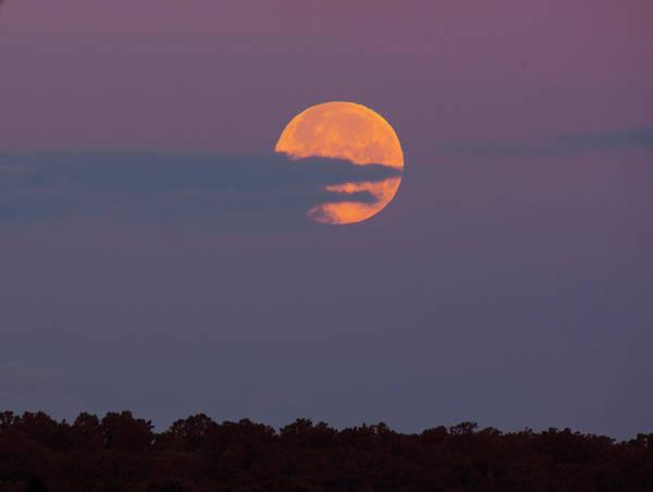 Photograph - Strawberry Moon by Buddy Scott