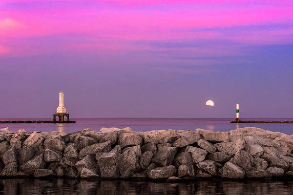 Photograph - Strawberry Moon by James Meyer