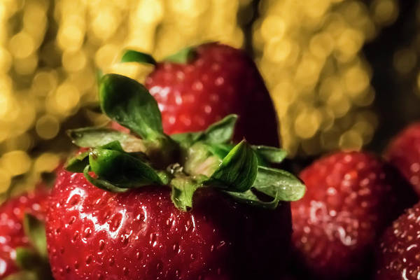 Photograph - Strawberry Still Life  by Sven Brogren