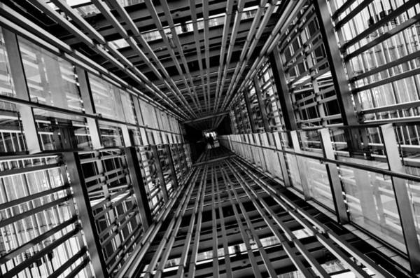 Line Photograph - Streak by Koji Tajima