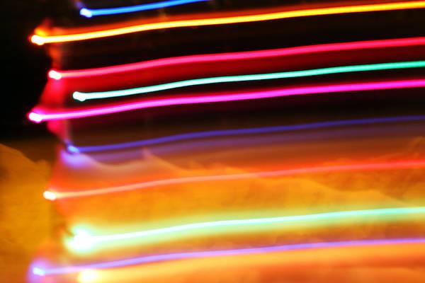 Christmas Lights Photograph - Streaks by Ty Helbach