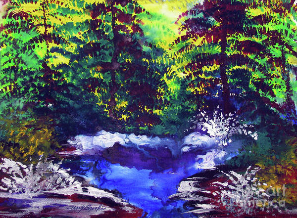 Painting - Stream Of Peace By Terry R. Brooks by Ben Upham