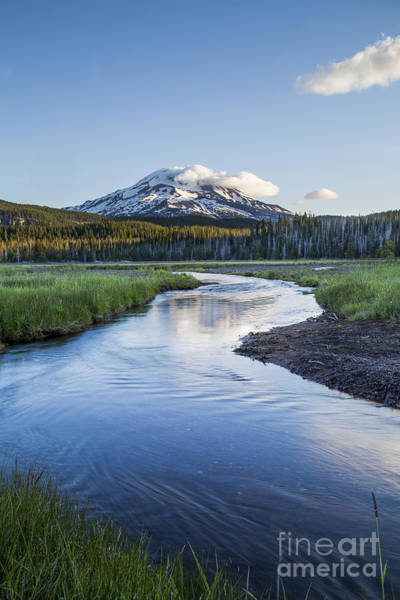 Scenic Byway Photograph - Stream To South Sister by Twenty Two North Photography