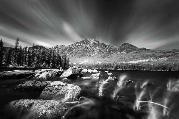 Ian Macdonald Photograph - Streaming Sky by Ian MacDonald