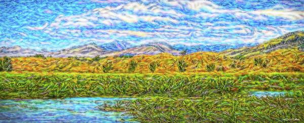 Digital Art - Streaming Sky by Joel Bruce Wallach