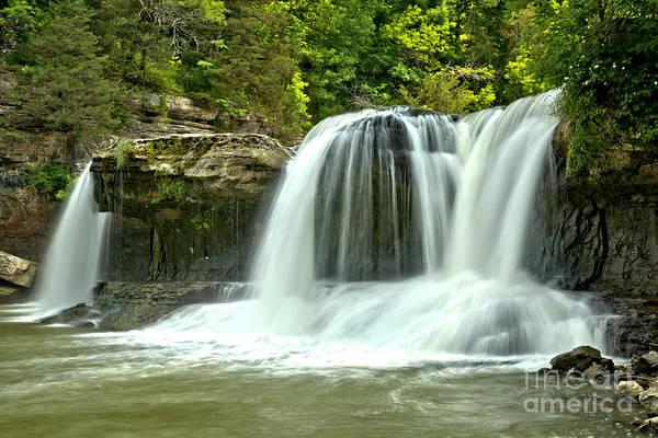 Photograph - Streams Of Cataract Falls by Adam Jewell