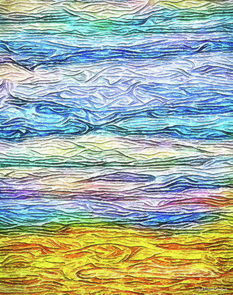Digital Art - Streams Of Celestial Dreams by Joel Bruce Wallach