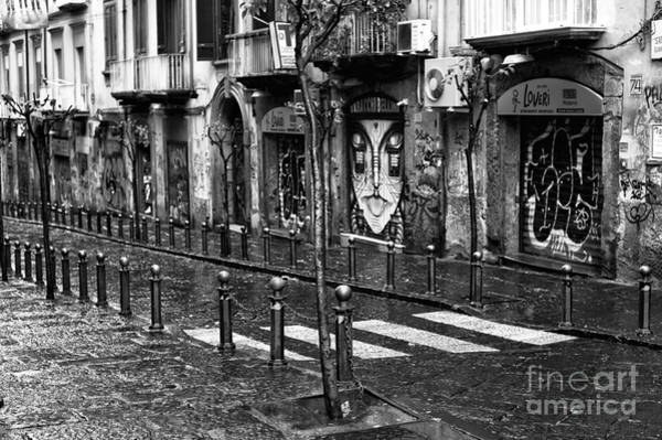 Wall Art - Photograph - Stree Lines In Naples by John Rizzuto
