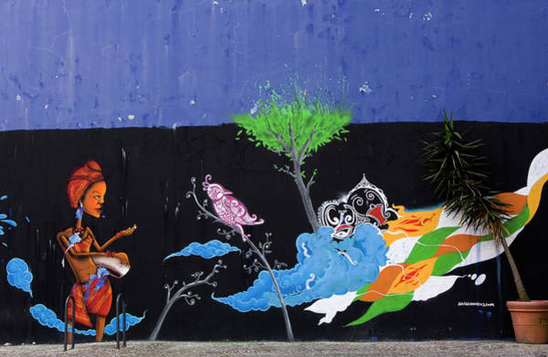 Photograph - Street Art By Nomen  by Lorraine Devon Wilke