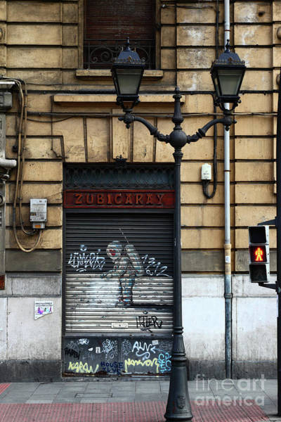 Photograph - Street Art In Bilbao Spain by James Brunker