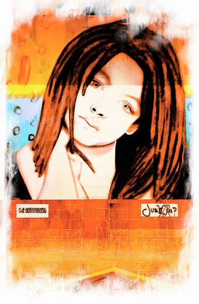 Wall Art - Photograph - Street Art In Montanita by Al Bourassa