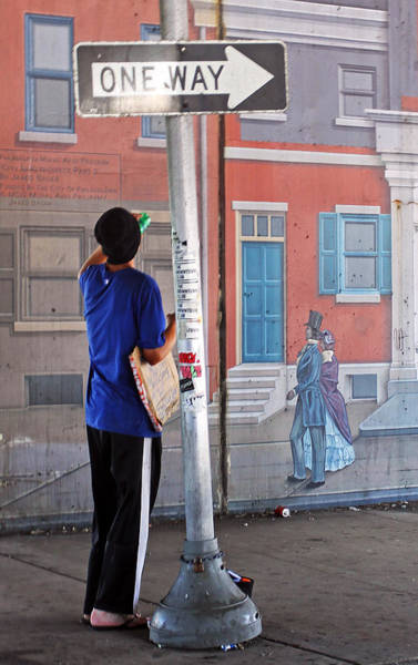 Photograph - Street Corner Beggar by Jennifer Robin