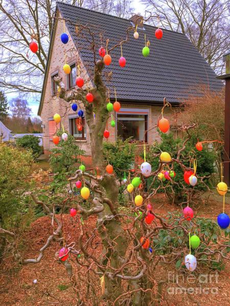 Photograph - Street Decoration For Easter by Marina Usmanskaya