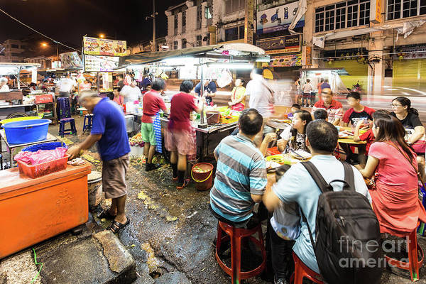 Photograph - Street Food In Penang by Didier Marti