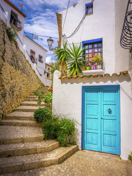 Photograph - Street In Altea, Spain. by Gary Gillette