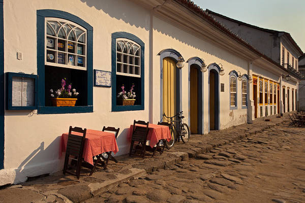 Photograph - Street In Paraty Old Town by Aivar Mikko