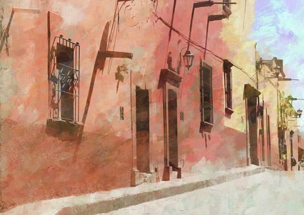 Photograph - Street In San Miguel De Allende 2 by Rob Huntley