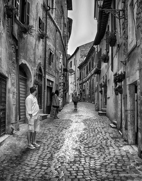 Photograph - Street In Tivoli by Coleman Mattingly