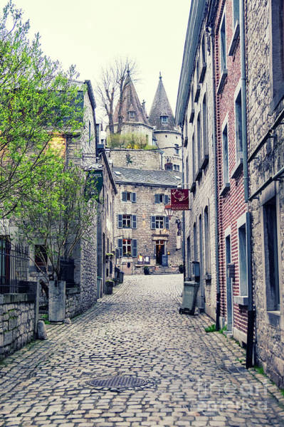 Photograph - street in town Durbuy by Ariadna De Raadt