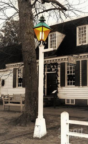 Photograph - Street Lamp by Patti Whitten