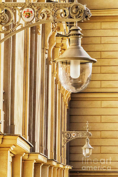 Photograph - street lamps in Vienna by Ariadna De Raadt