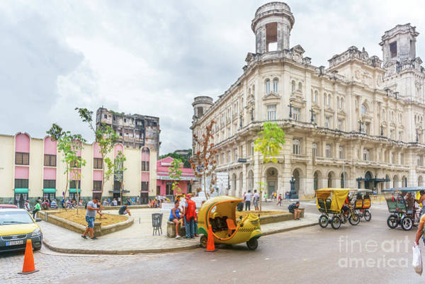 Wall Art - Photograph - Street Life In Havana, Cuba by Viktor Birkus