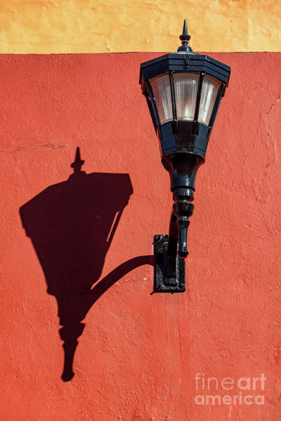Campeche Photograph - Street Light And Shadow by Jess Kraft