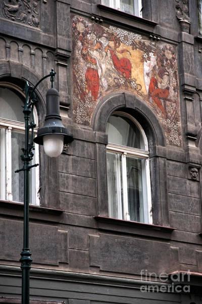 Photograph - Street Light In Prague by John Rizzuto