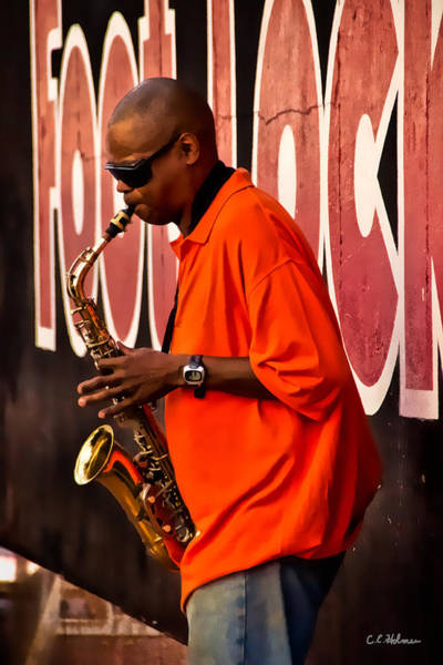 Photograph - Street Music by Christopher Holmes