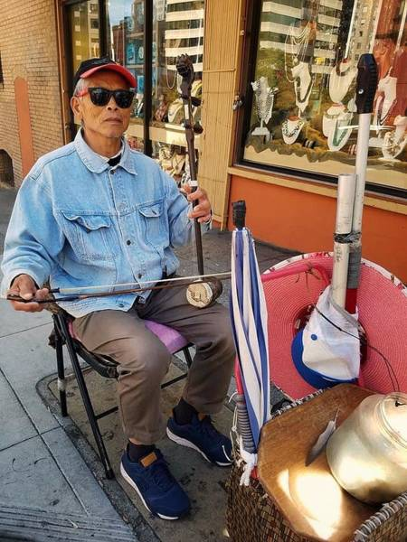 Photograph - Street Music by Mary Capriole