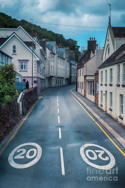 Photograph - Street Of Summer Countryside by Ariadna De Raadt