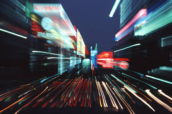 Ginza Wall Art - Photograph - Street Scene In Tokyos Ginza District by Ira Block