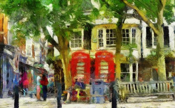 Digital Art - Street Scenic by Leigh Kemp