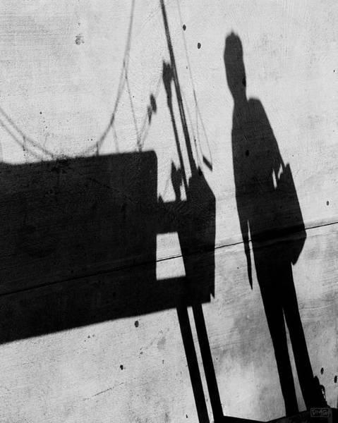 Photograph - Abstract Shadows IIi Bw by David Gordon