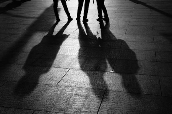 Photograph - Street Silhouettes by Lee Webb
