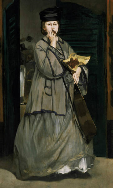 Painting - Street Singer by Edouard Manet