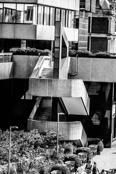 Photograph - Street Stairs, London. by Nigel Dudson