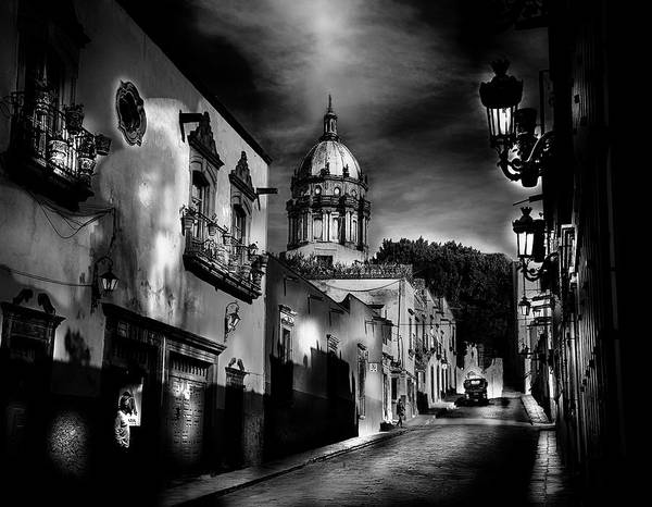 Photograph - Street To The Nun's Church by Barry Weiss