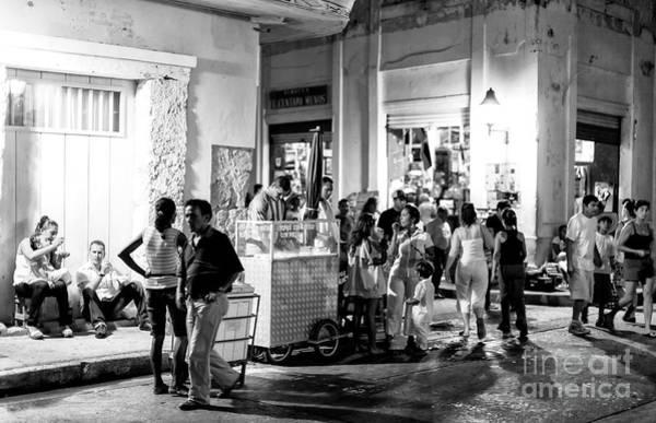 Photograph - Street Vibe In Cartagena by John Rizzuto