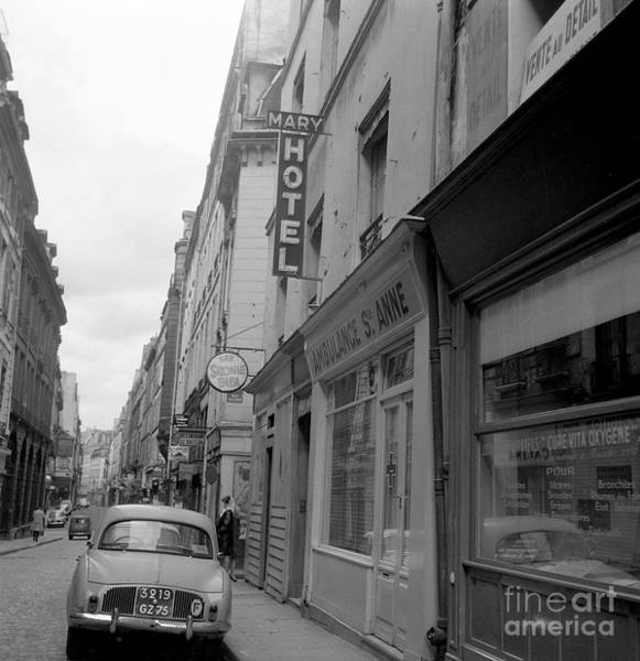 Wall Art - Photograph - Street View, Paris, 1977  Sainte Anne Street by French School