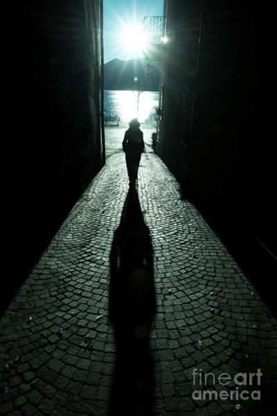 Photograph - Street With Sunbeam by Mats Silvan