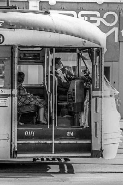 Photograph - Streetcar Profiles, San Francisco by Frank DiMarco