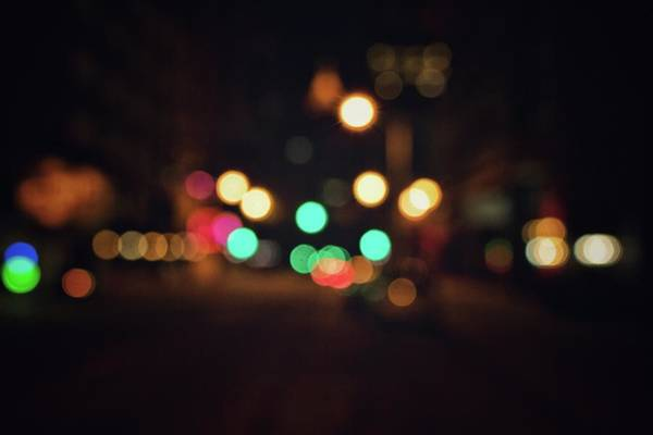 Photograph - Streetlights  by Mike Dunn