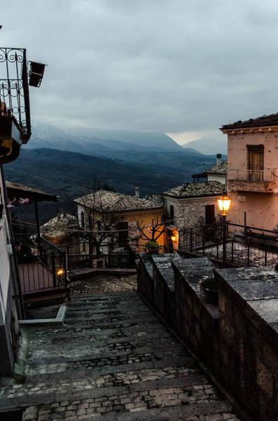 Tramonto Photograph - Streets Of Italy - Caramanico 3 by Andrea Mazzocchetti
