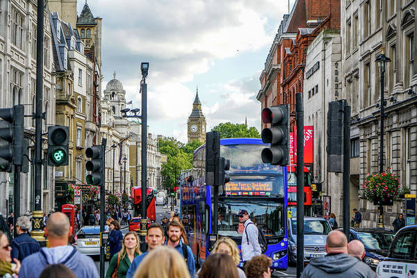 Wall Art - Photograph - Streets Of London by Ric Schafer